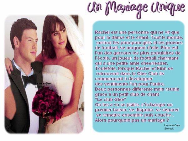 Glee~ Un Mariage unique