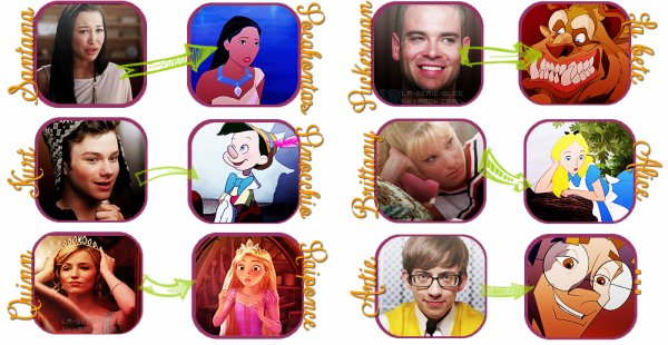 Disney VS Glee