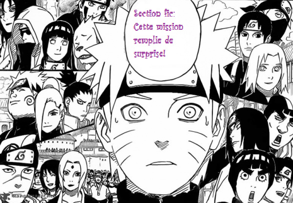 Section fic :Cette mission remplie de surprise!