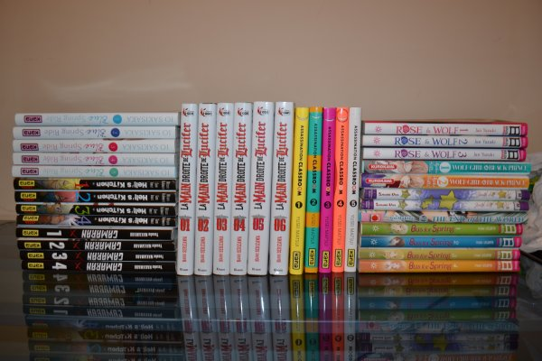 Ma petite collection.