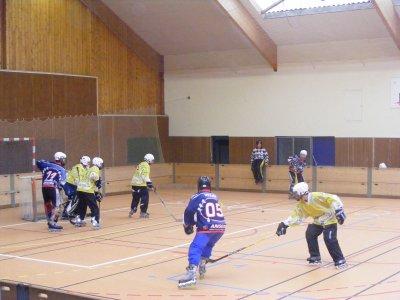 Phases de jeu contre Angers