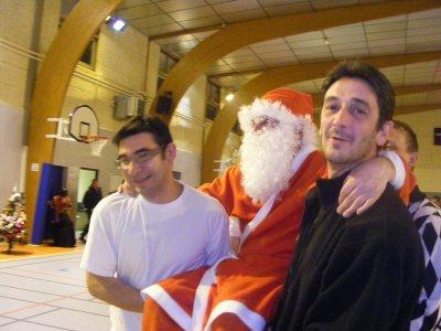 Le Père Noël repart avec des drôles de rennes !!!