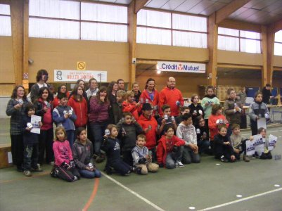Première phase du trophée Yamakasi, à Bressuire le 30 janvier 2011