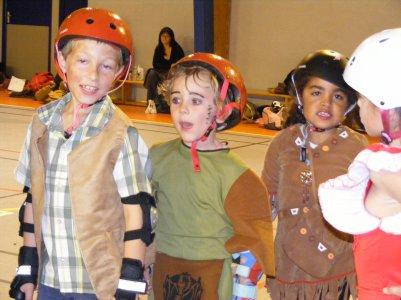 Halloween à l'école de patinage !