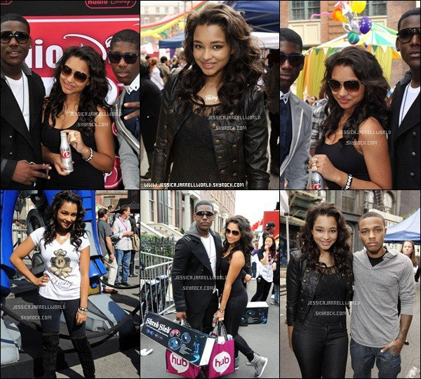 """Jessica à l'évenement """"Variety's 4th Annual Power Of Youth Event"""" à Los Angeles, le 24 Octobre dernier."""