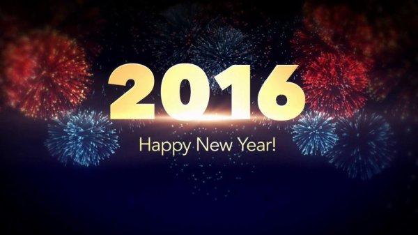 Bonne année 2016 à tous ! :) <3