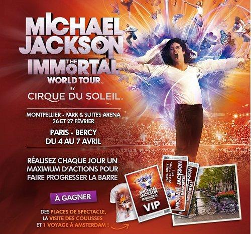 Concours Live Nation France: Gagnez vos places pour The Immortal World Tour...