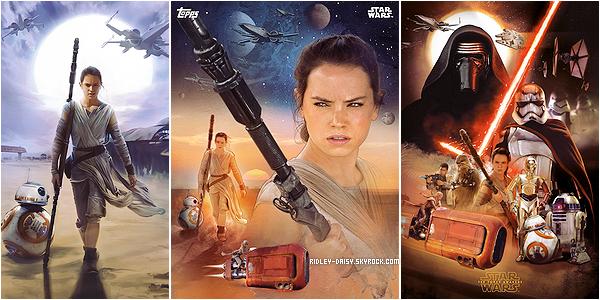 — NOUVELLES IMAGES DE DAISY EN  REY & AFFICHES OFFICIELLES ET BANDE-ANNONCES   Ecrit par Marie le 11 septembre 2015 (modifié le 12 novembre) - catégories : Photoshoot, Star Wars.