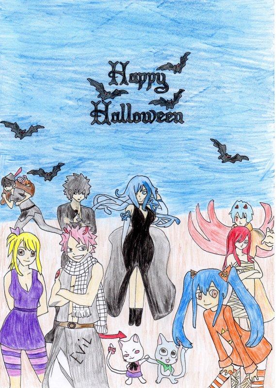 Fanfiction d'halloween.