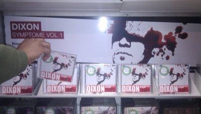 SYMPTOMES VOL. 1 DE DIXON EST DANS LES BACS !!