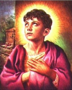 Saint Tarcisius tué par ses camarades d'école