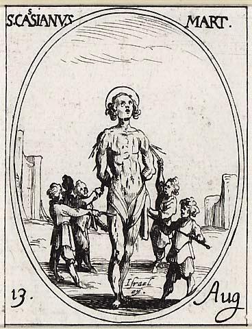 Saint Cassien d'Imola : un professeur tué par ses propres élèves !