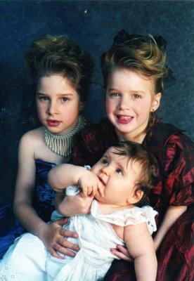 Mes grandes soeurs et moi petites <3