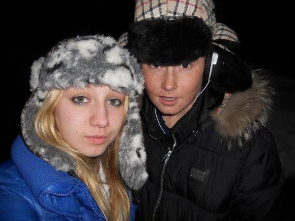 Avec le cousin <3