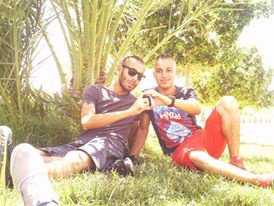 me with my brother houssam
