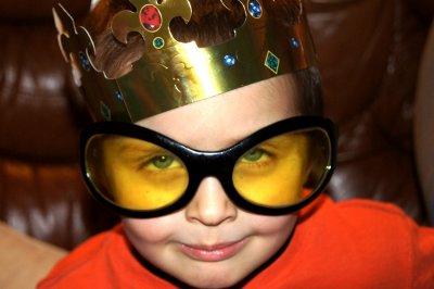 J'ai un roi à lunettes