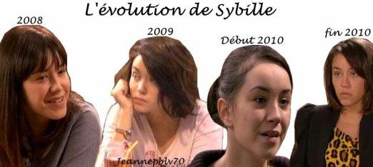 L'évolution de Sybille