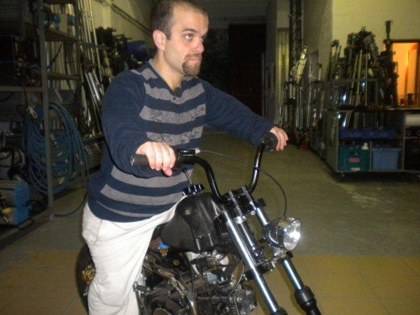 Moto sur mersure : une mini-Harley