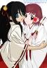 Sakura and Ichigo Miko