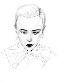 G Dragon Drawing ♥