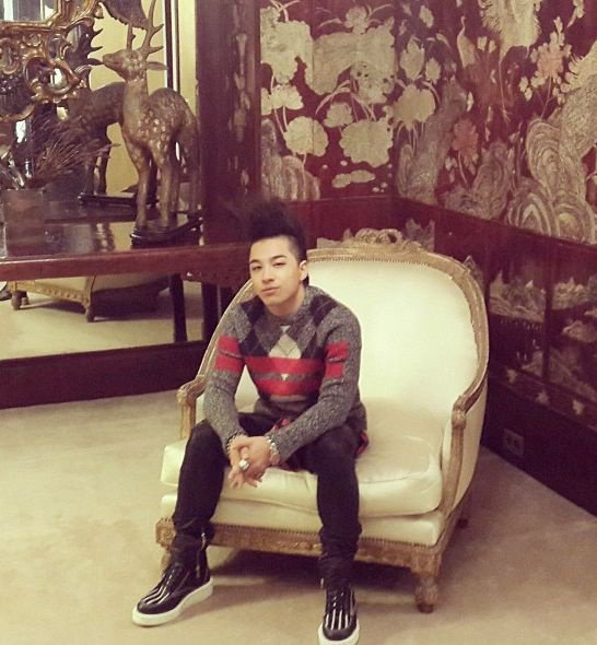 Taeyang in Paris