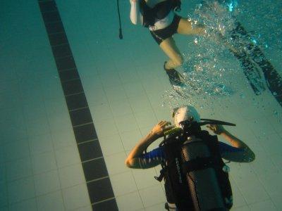 Kossal sous l'eau avant son dernier interview