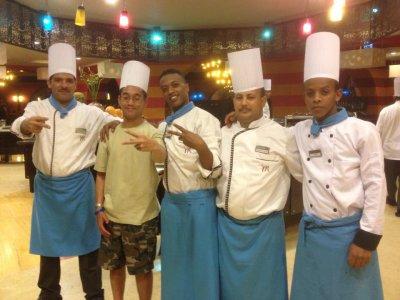 Kossal Plongée Hurghada 52 : Moi et les quatres cuisiniers