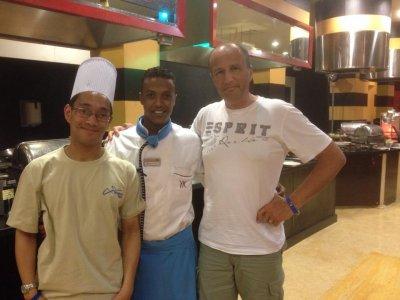 Kossal Plongée Hurghada 53 : Moi, avec Jean-Christophe