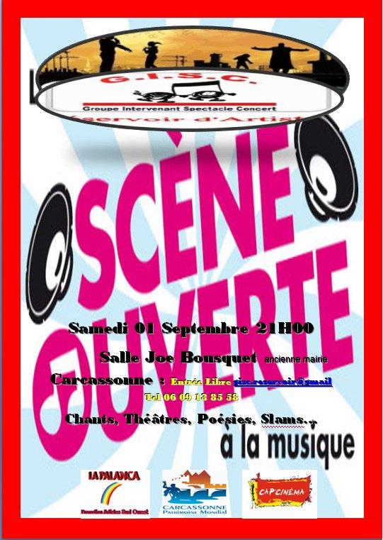 Scène ouverte gisc/reservoir d'Artistes 2012) ,