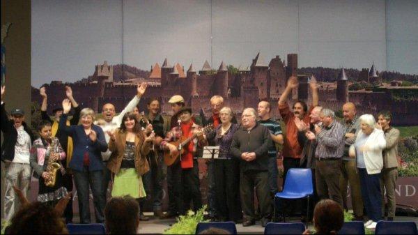 PHOTOS  DU 9 Novembre 2012,le Gisc a organisé sa scène ouverte,Salle Joe Bousquet à carcassonne