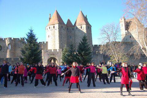 """Festival place à la Danse à Carcassonne  à 15h - Place Carnot Dimanche 07 Avril 2013 """"GISC"""