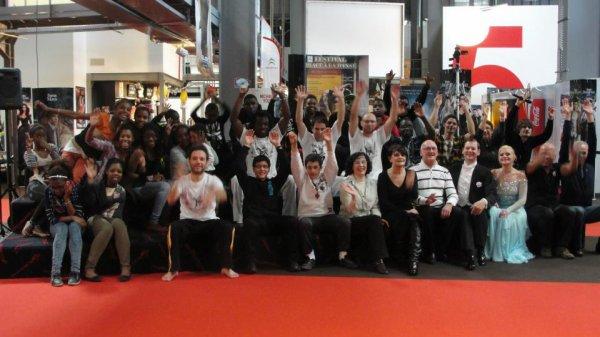:La Capoeira:Association les messagers du vent Groupe percussion Kiwa- mbollo union avec bité et oumar: de Carcassonne