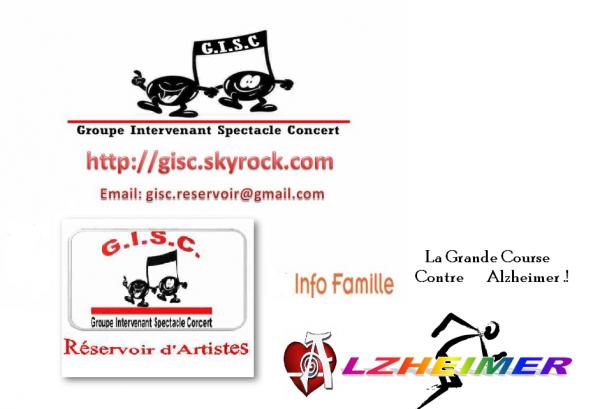 Association 1901  Projet/ GISC Réservoir d'Artistes Groupe  intervenant spectacle concert  3 Actions  Humanitaires, Solidaires  et tu Montes sur Scène