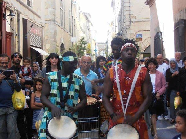 SOIRÉE AFRICAINE   SAMEDI 23 NOVEMBRE 2013: SCÈNE OUVERTE GISC RÉSERVOIR D'ARTISTES