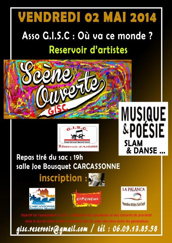 SCENE OUVERTE A LA TETE DE L'ART.LE 26 AVRIL 2012