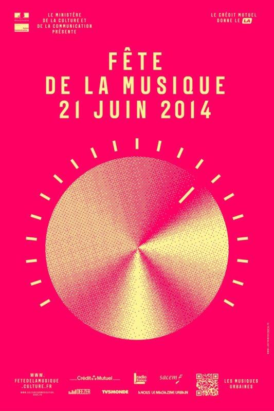 Fête de la Musique 2014  le gisc reservoir d'artistes place Carnot à partir de 18H00