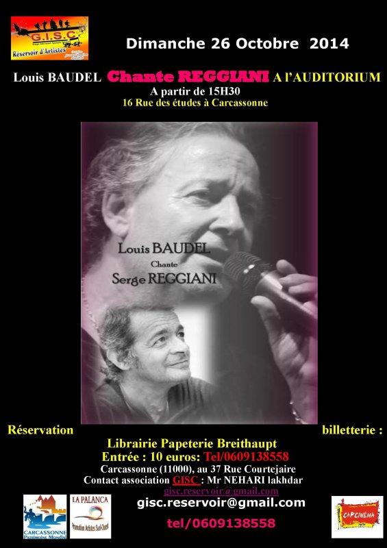 LOUIS BAUDEL chante Reggiani  Le zouave du pont de l'Alma