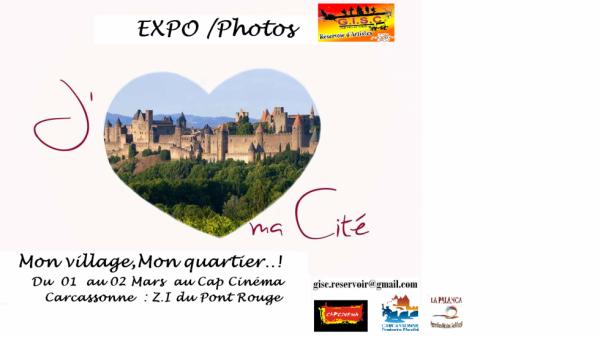 4° édition : SORTEZ VOTRE ART  Expo : J'Aime ma Cité, Mon village, Mon Quartier
