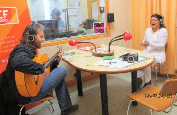 """RCF Groupe YALI Duo Flamenco """"concert au chapeau rouge le samedi 11 Avril 21H00 : carte blanche aux artistes du GISC"""