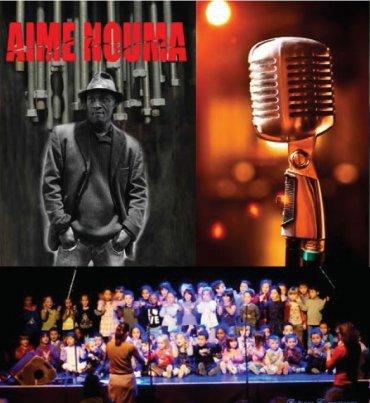 Aimé NOUMA & le POETIC GROOVE Au Festival des jeunes slameurs salle du chapeau rouge Concert et scène jeunes le Mercredi 06
