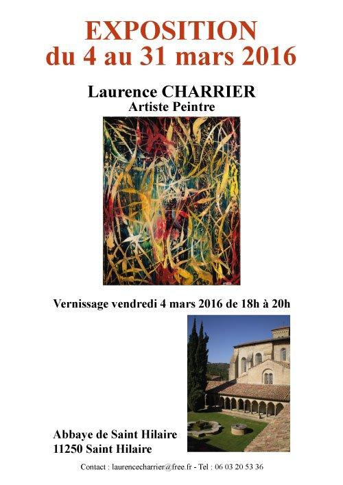 pour info ,gisc :Exposition  du 04 au 31 Mars 2016 :Laurence Charnier