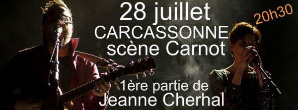Pour info gisc , The Albouyz intervenant du réservoir d'artistes gisc au festival de carcassonne .Place Carnot
