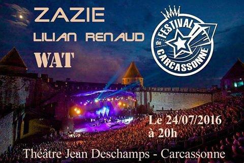 Pour info gisc ,le groupe Band Wat Intervenant du gisc réservoir d'Artistes à partir de 20H00 . Première partie de ZAZIE au festival de carcassonne