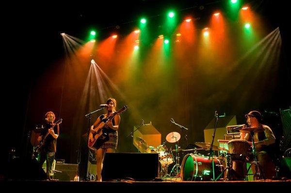 """Le trio WAT"""" intervenant gisc réservoir d'artistes , gagnant du Tremplin Sacem, se produira le dimanche 24 juillet 2016 à 20h00"""