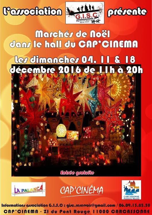 Marché de Noël : GISC    du dimanche 04/11/18 décembre 2016   ,