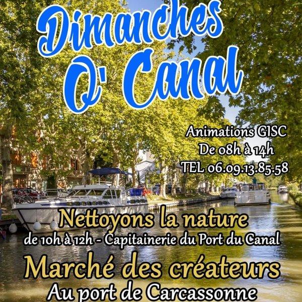 Les Dimanches O Canal.Au Port De Carcassonne