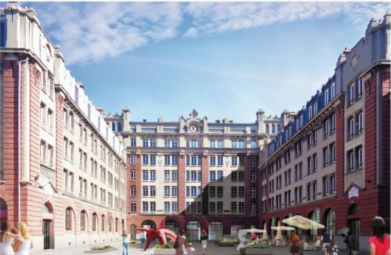 Quartier Danton, au Havre. La nouvelle vie de la caserne Dumé-d'Aplemont