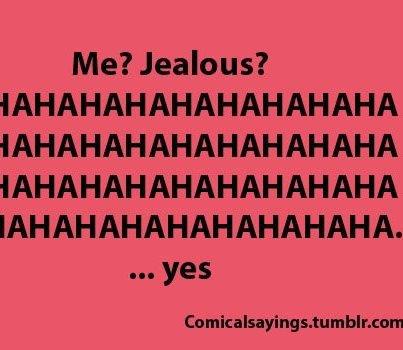 Jalousie ...