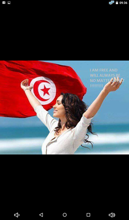 NOTHING CAN STOP THEM FROM FELLOWINF THEIR DREAMS THOSE WOMEN OF TUNISIA