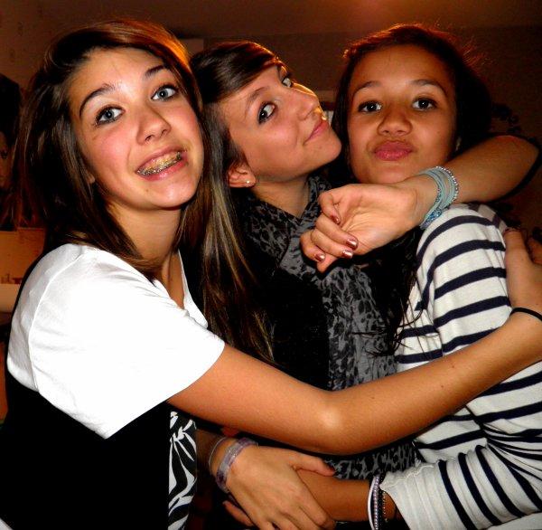 Léloune && Axelle && Faustine ♥